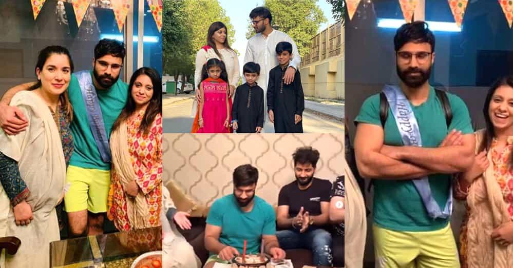 Youtuber Rahim Pardesi Celebrates Birthday With His Two Wives