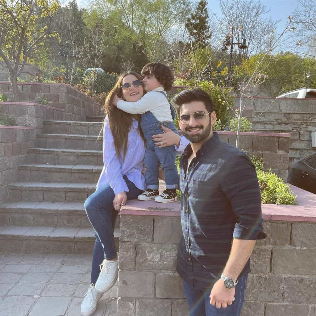 Beautiful Pictures of Aiman Khan Lovely Family Vacation