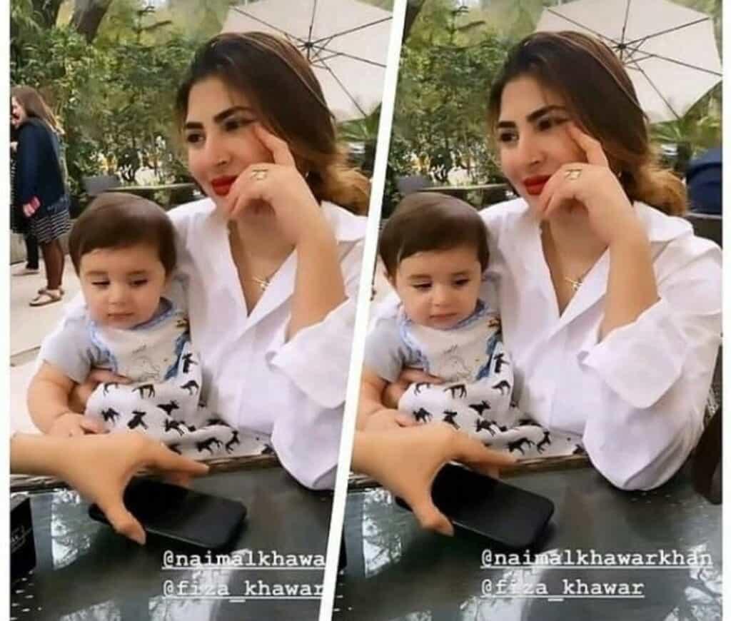 Naimal Khawar New Adorable Clicks With Her Family