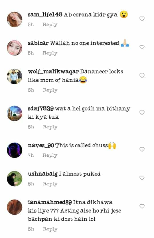 Video of Hania Aamir Force Feeding Pawri Girl Goes Viral