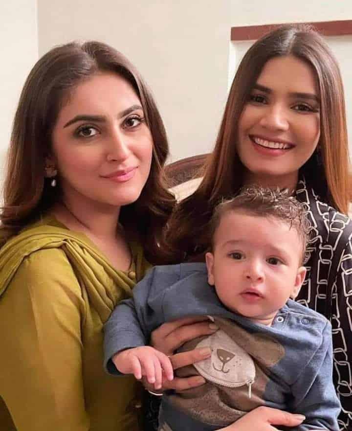 Hiba Bukhari Family