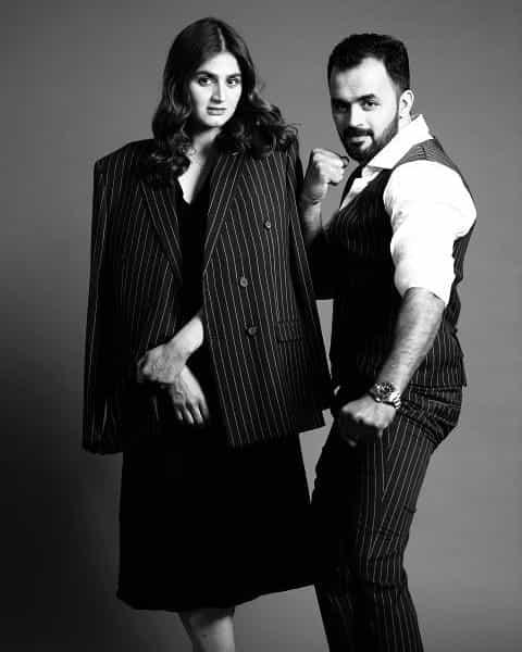 Hira Mani Beautiful Photoshoot With His Brother Hassan Jamal