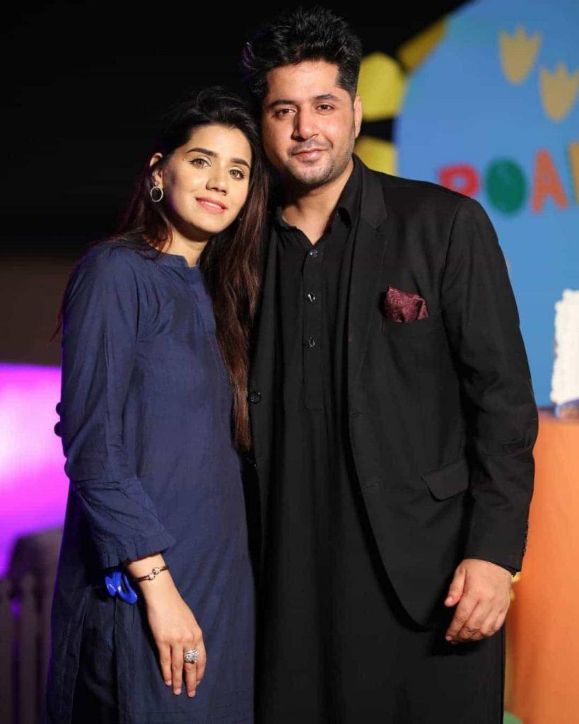 Imran Ashraf Host Grand Birthday Bash For Son Roham: Feroze, Humayun Saeed, Iqrar Attend, See Pics