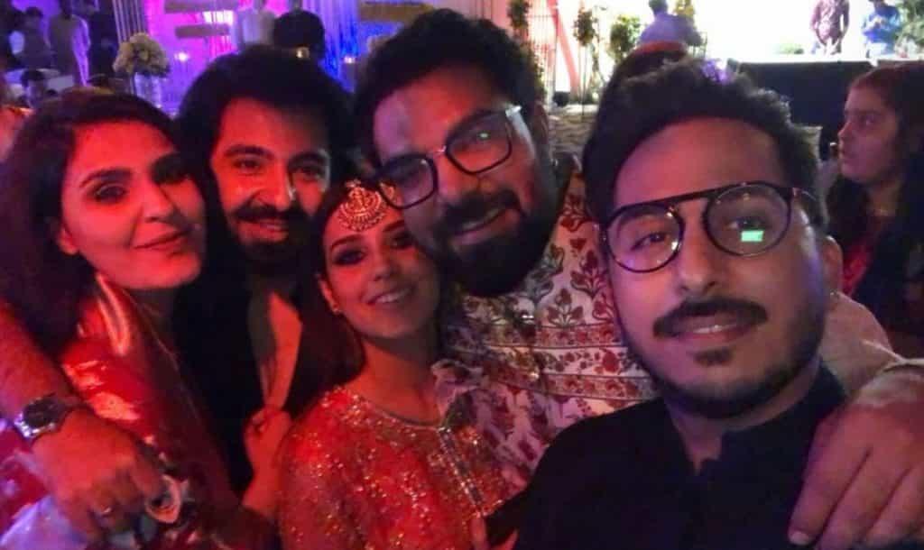Yasir Hussain Attends A Friend's Wedding With Wifey Iqra Aziz!