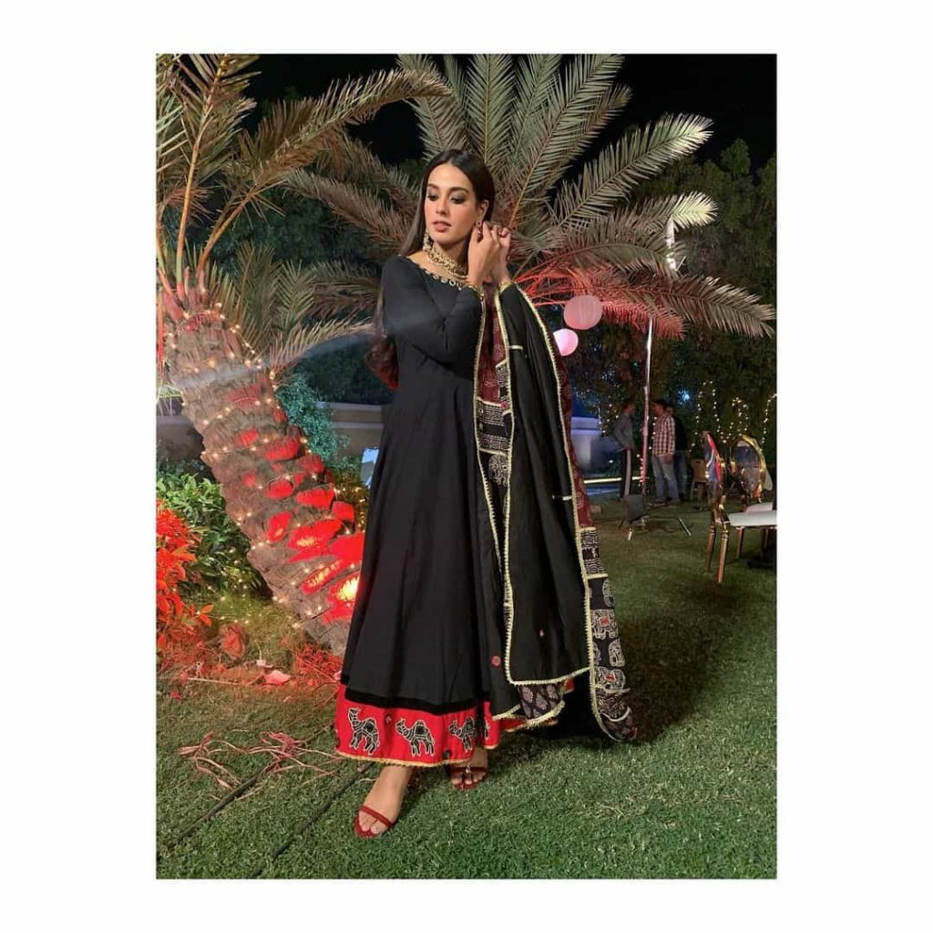 Iqra Aziz Looks so Fat in her Recent Pictures