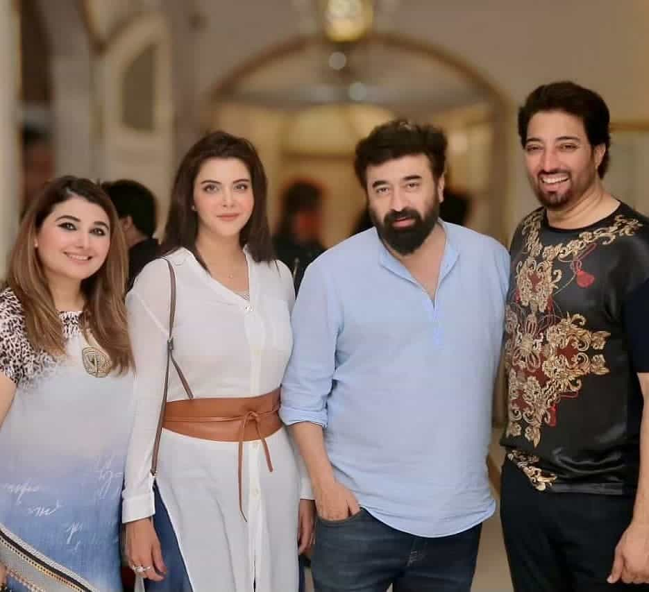 Javeria Saud Hosted Surprise Dinner Party at Her House For Nida Yasir