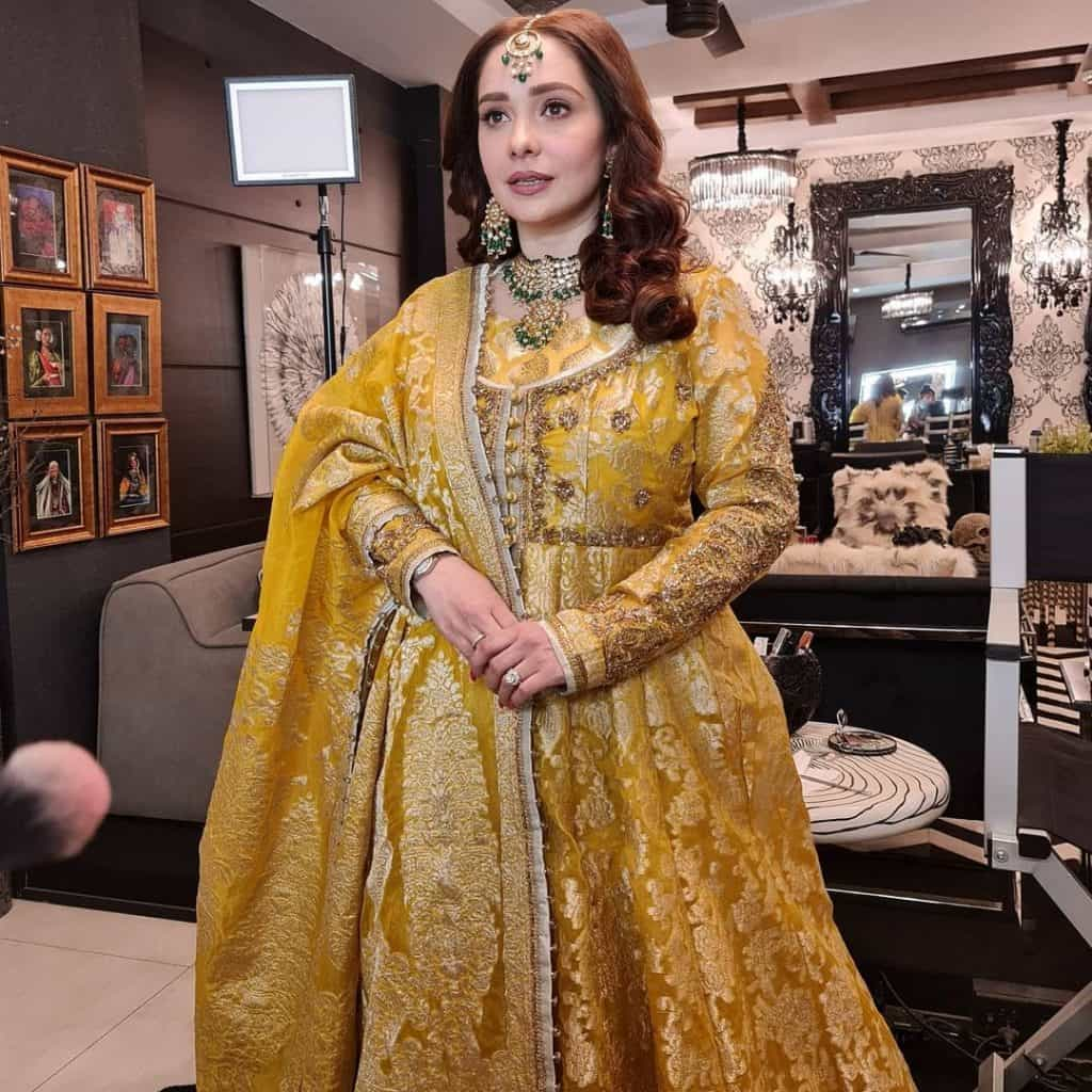 Beautiful Pictures of Juggun Kazim At Her Brother Wedding Ceremony