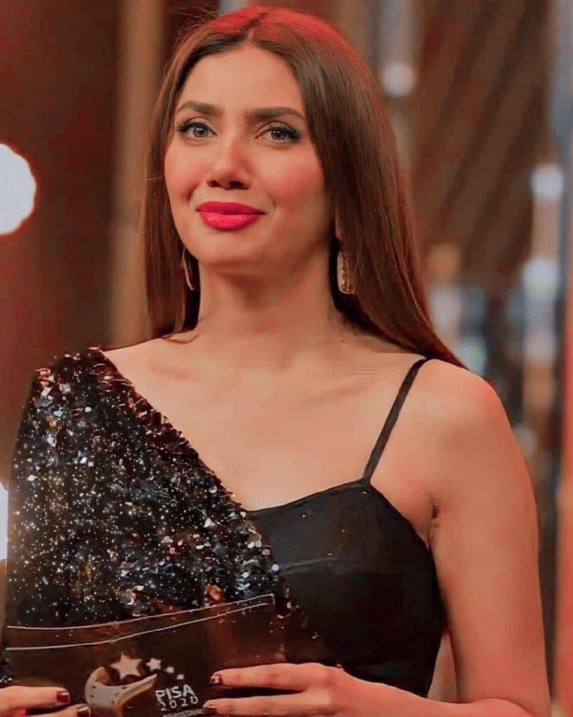 Mahira Khan Some New Adorable Clicks In Bold Dress