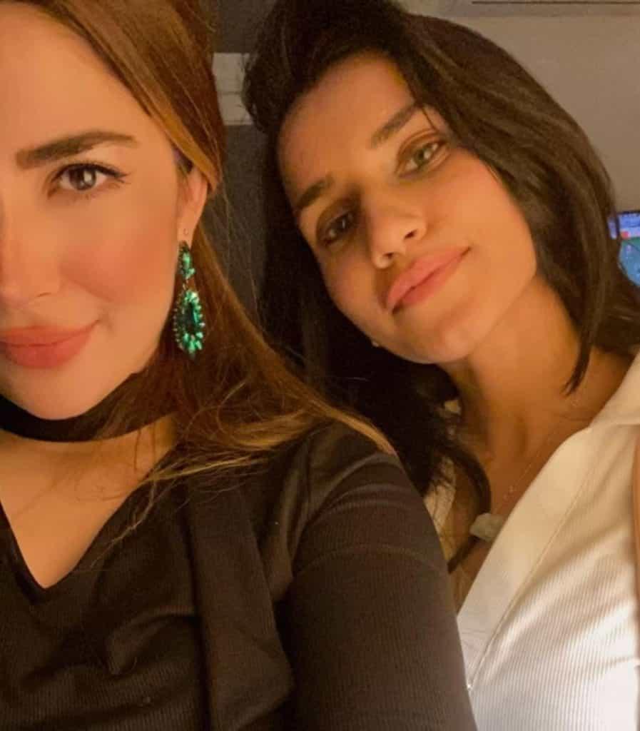 Beautiful Pictures of Naimal Khawar Sister Fiza Khawar 26th Birthday Party