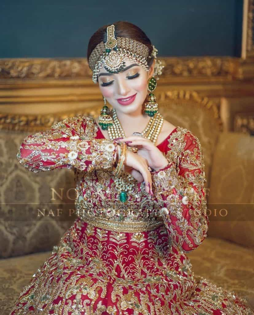 Nawal Saeed Looking So Royal In Her Latest Bridal Photoshoot