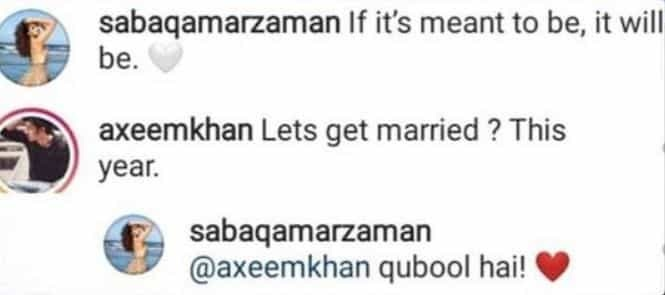Saba Qamar Hints At Getting Married Soon