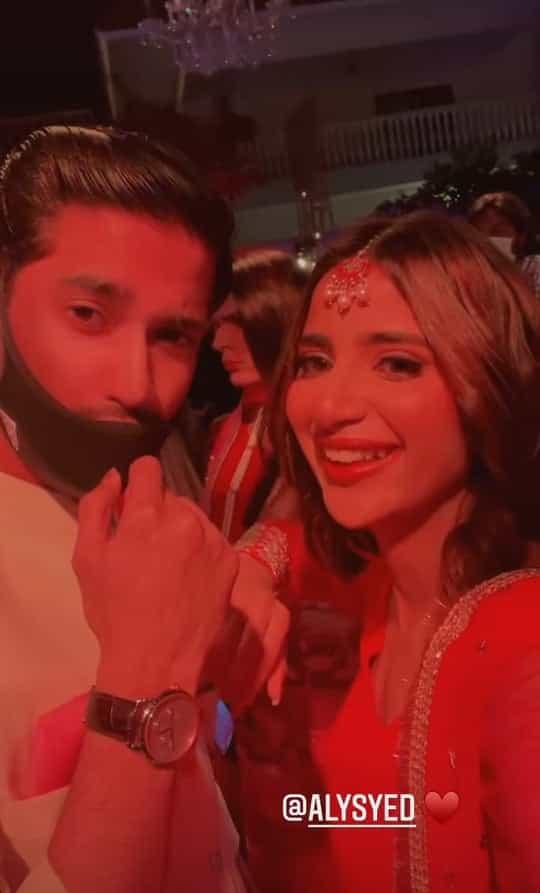 Dance Video of Beautiful Saboor Ali At Her Friend's Wedding