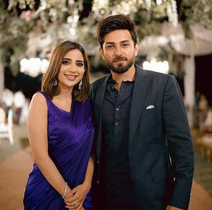 Saboor Ali Attends Friend's Wedding With Bestie Zara in Karachi. Inside Pics And Videos