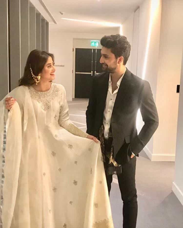 Trouble in Sajal-Ahad Raza Mir Relationship?