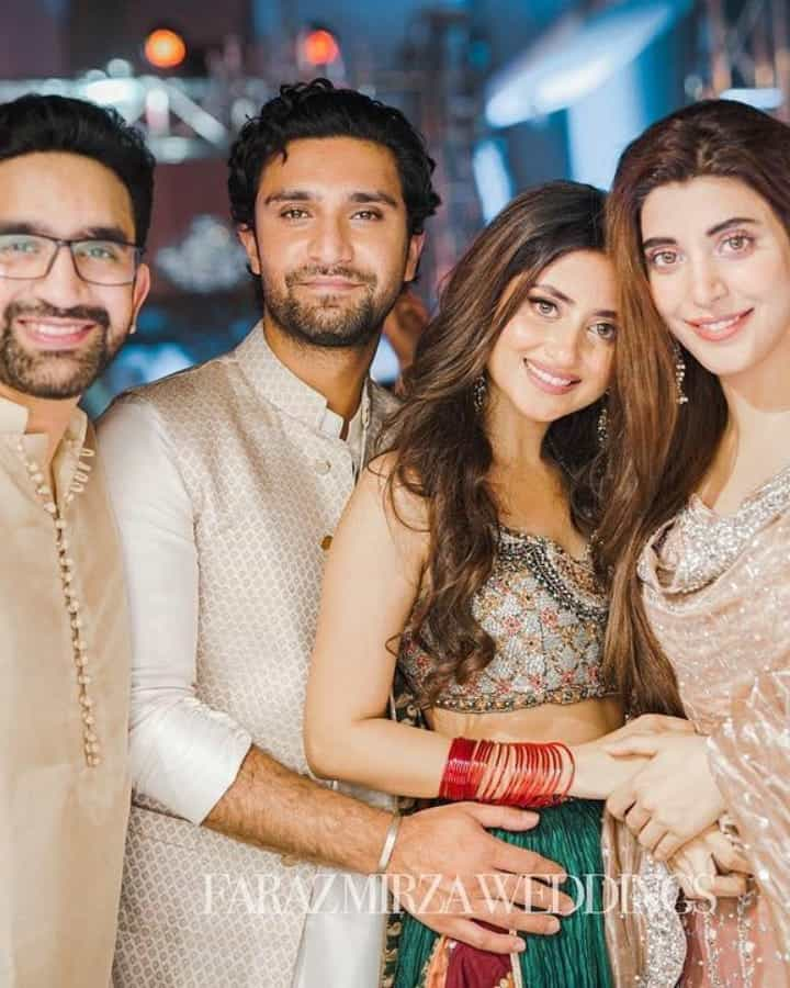 Did You See Sajal Ali's Dance Performance At Her Friend's Wedding