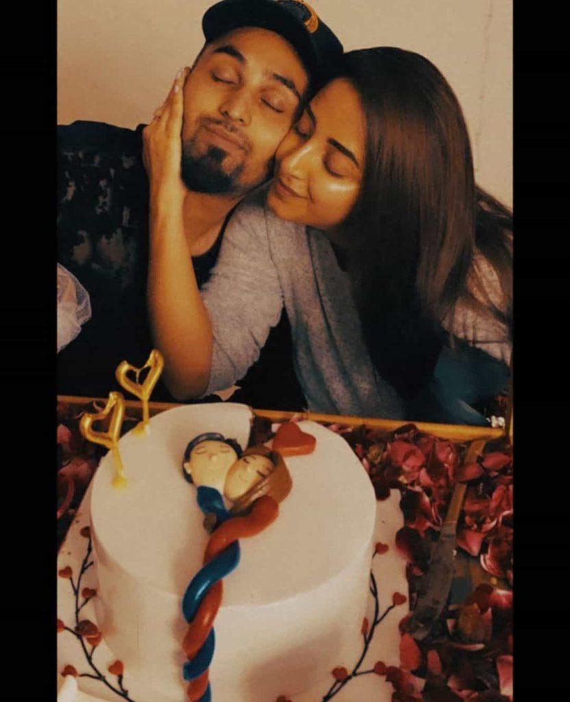 Sanam Chaudhry, Somee Celebrate 2nd Wedding Anniversary