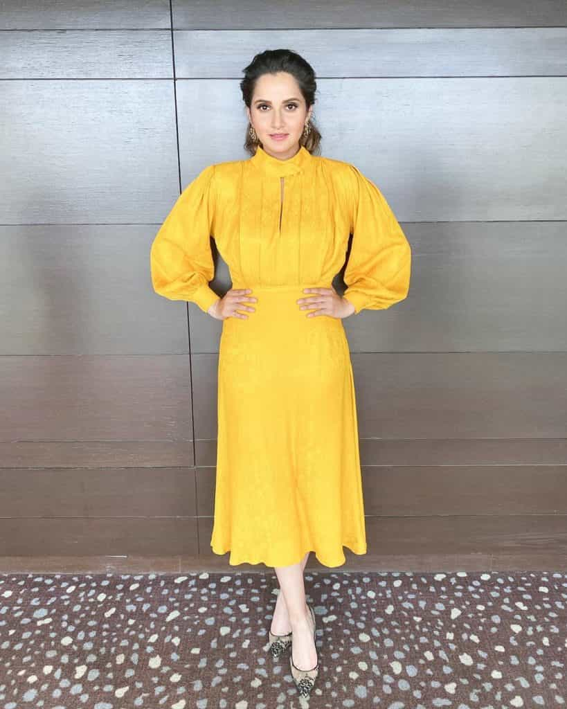 Sania Mirza Looks So Thin in Her Latest Photoshoot