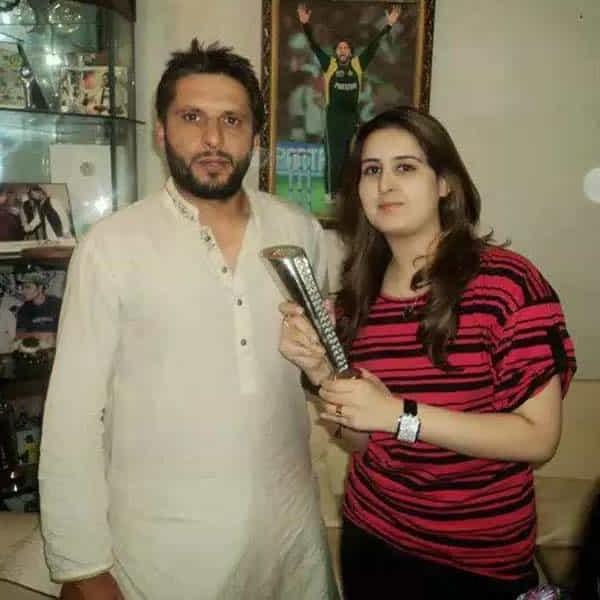 Shahid Afridi Wife