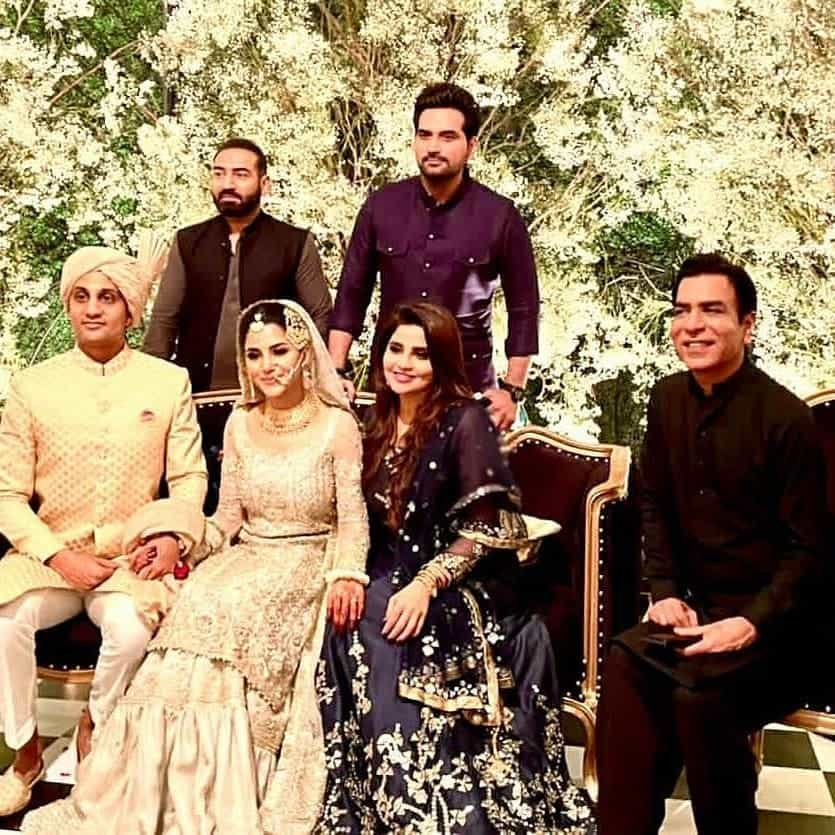 Sohai Ali Abro Wedding Pictures With Her Husband
