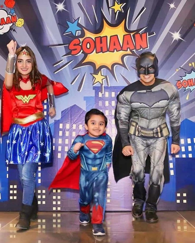 Uroosa Qureshi and Bilal Qureshi Celebrate Son Sohaan's 6th Birthday [Pictures]