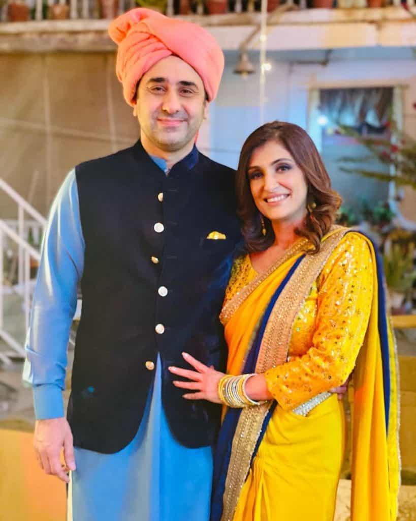 Wajahat Rauf Celebrating His Cute Wife Birthday