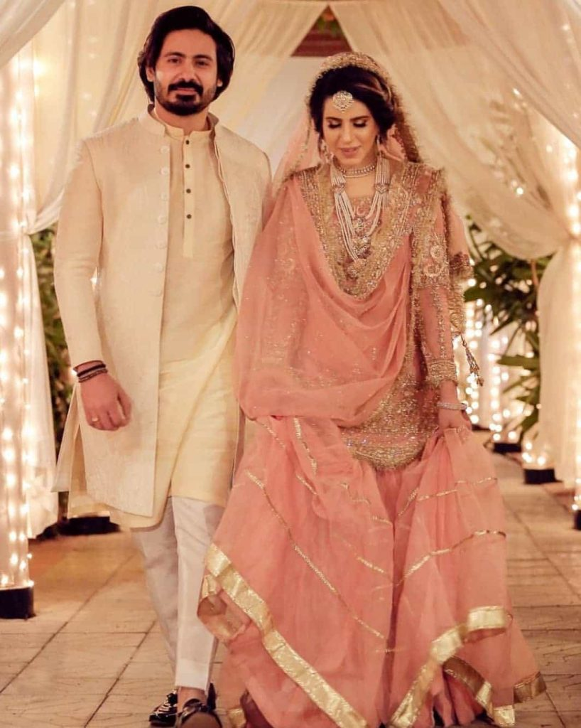 Wali Hamid Ali Khan Beautiful Mehndi Pictures With His Wife