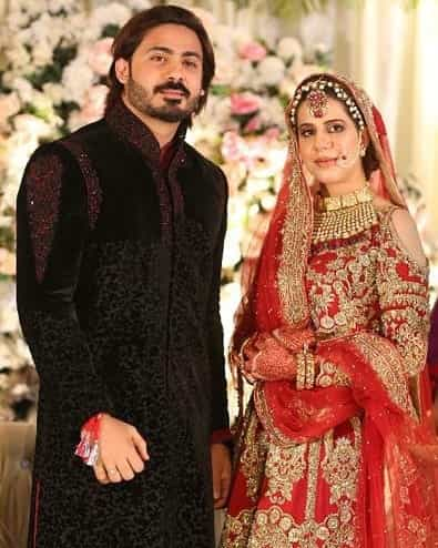 Wali Hamid Ali KHan Wife