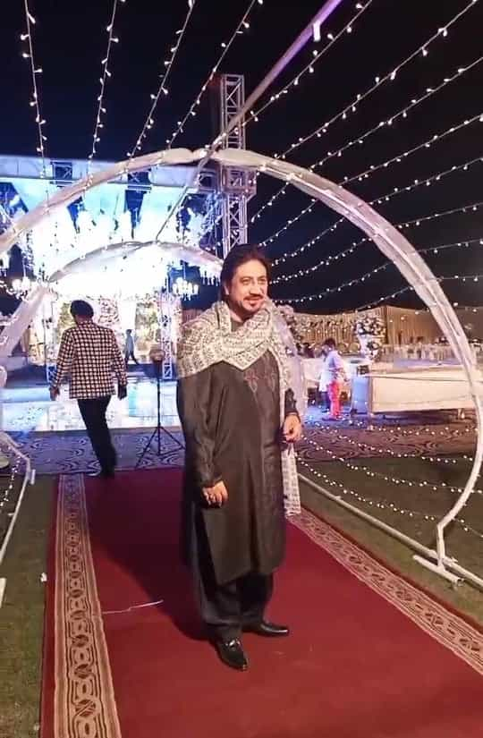 Wali hamid ali khan wedding pictures