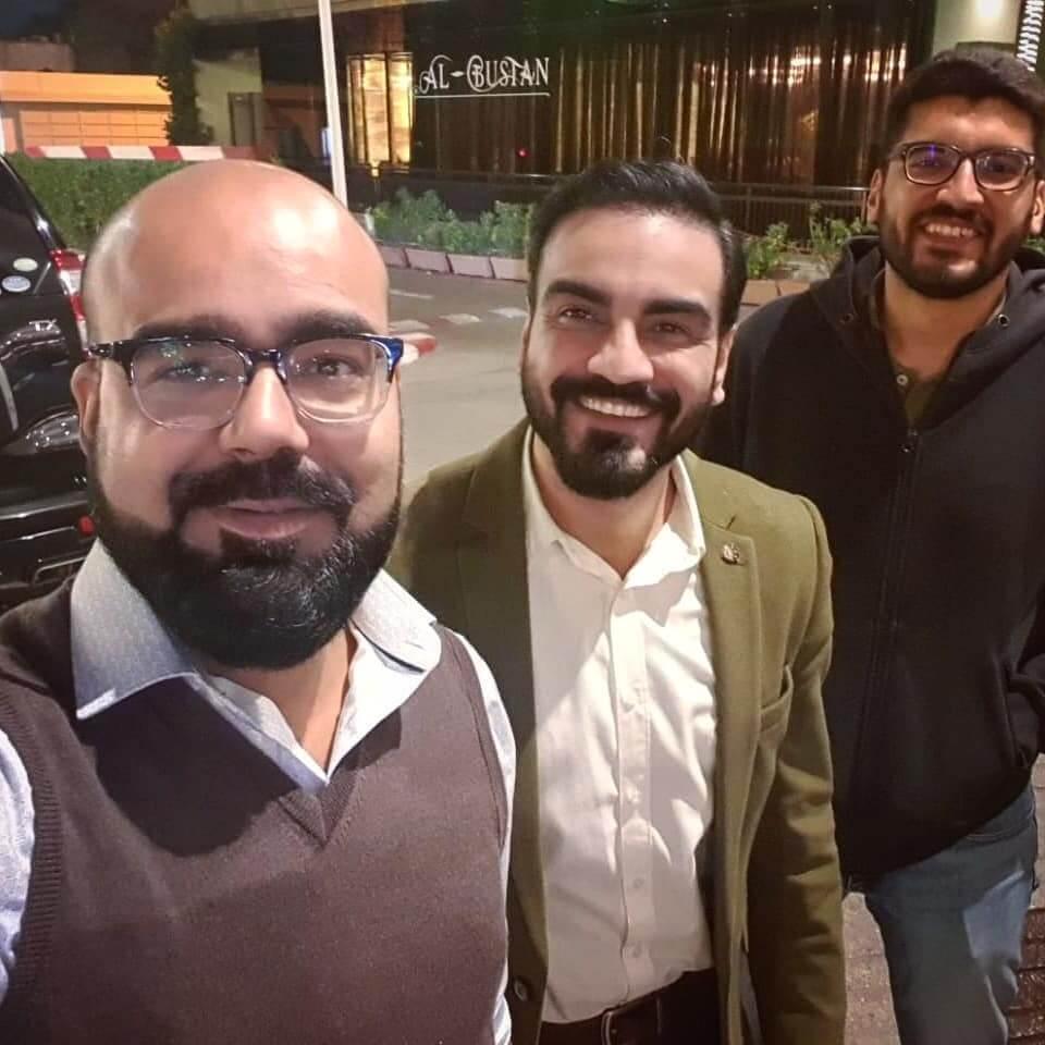 Arslan Naseer Family