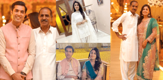 Beautiful Family Pictures of Iqrar Ul Hassan With His Wife And In-Laws
