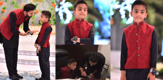 Beautiful Pictures of Waseem Badami Son Adil 10th Birthday Party