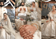 Mansha Pasha Wedding Pictures With Her Husband