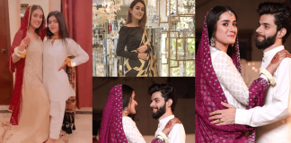 Shehzeen Rahat Wedding Pictures With Her Husband