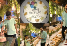 Waseem Badami Celebrated Son Adil's Birthday at Home