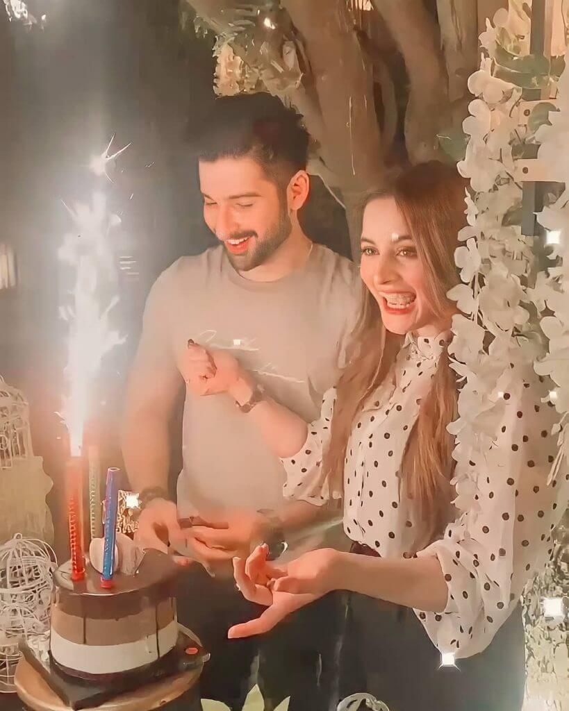 Pictures From Aiman Khan's Husband, Muneeb Butt 28th Birthday