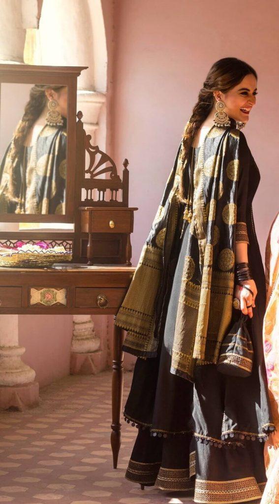 Aiman Khan And Minal Khan Shoot For Their Brand AnM Closet