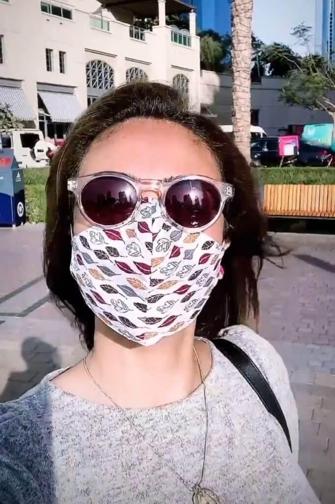 Anoushey Ashraf Take A Family Vacation in Dubai