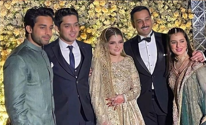 Beautiful Pictures of Bilal Abbas At His Brother's Wedding Ceremony