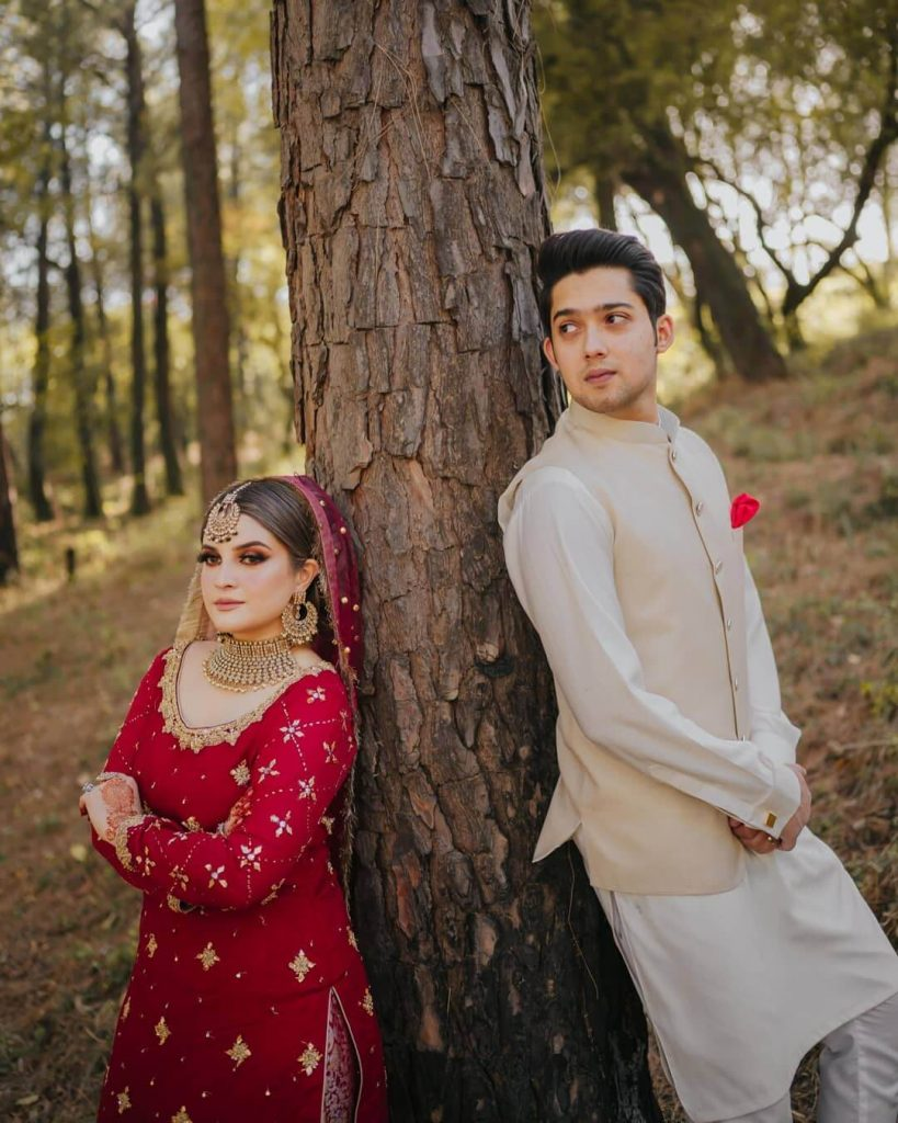 Shahbaz Abbas Khan Walima Day Pictures With His Wife And Family