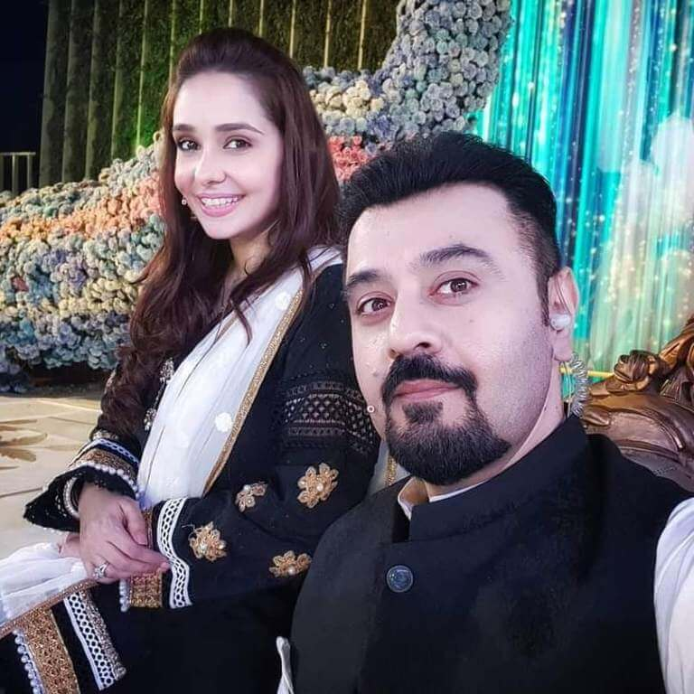 Beautiful Pictures of Pakistani Celebrities Recording 2021 Eid Show