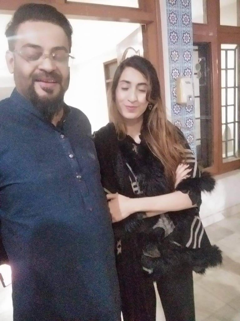 This Woman Claims To Be The Third Wife Of Aamir Liaquat And Pakistanis Can't Stop Trolling Her!