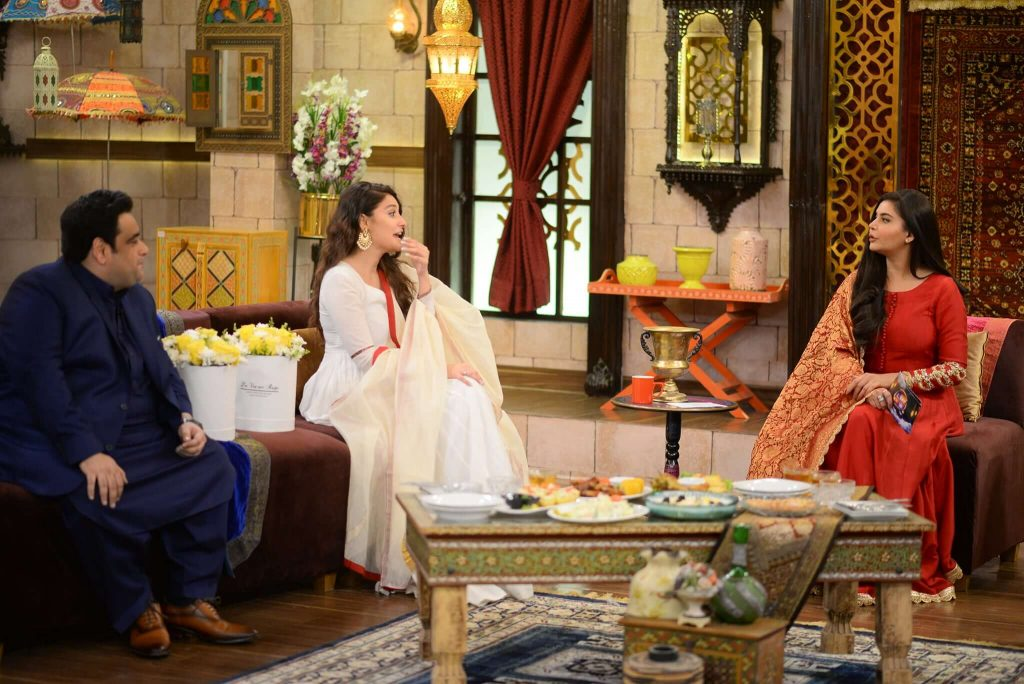 hina altaf in nida yasir morning show