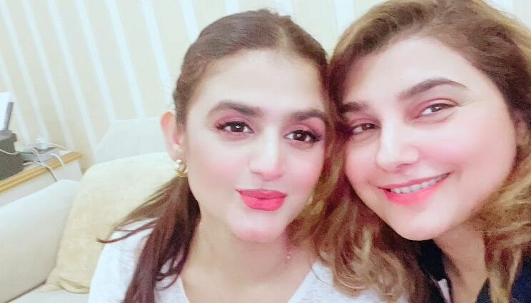Hira Mani's Sehri Party at Javeria Saud's House
