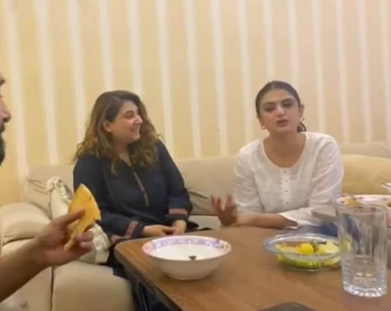 Hira Mani's Sehri Party at Javeria Saud's House