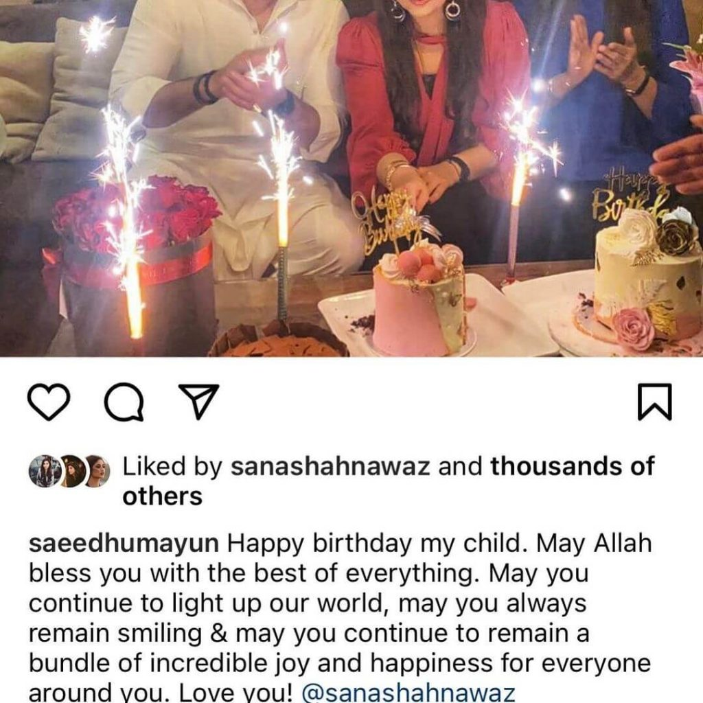 Humayun Saeed Celebrates Her Sister-In-Law, Sana Shahnawaz's 40th Birthday, Pictures Inside