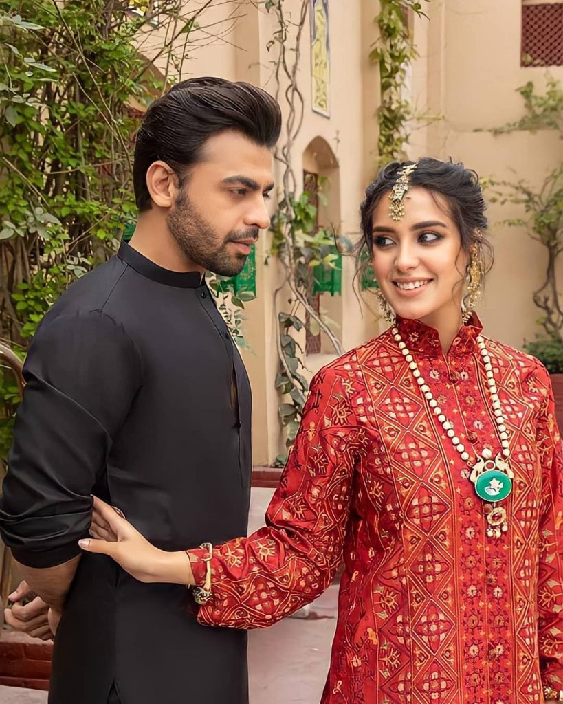 Iqra Aziz And Farhan Saeed Wow Fans With A Bold Photoshoot
