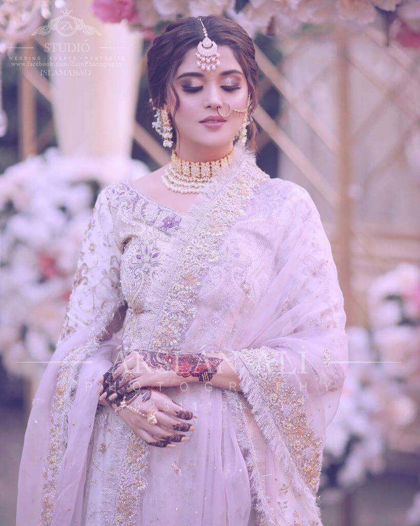 Tiktok Star Kanwal Aftab Looking Gorgeous In Her Latest Bridal Photoshoot