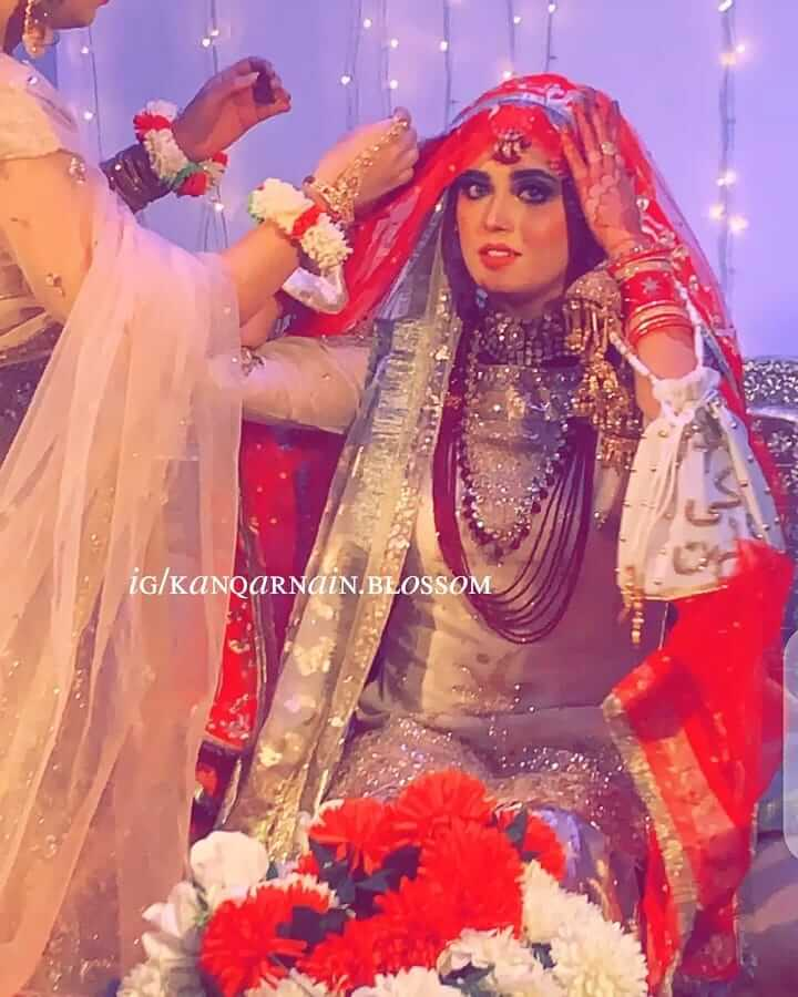 Kanwal Aftab Wedding Pictures With Her Husband