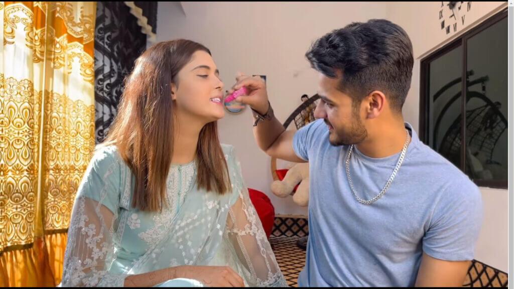 kanwal aftab makeup video