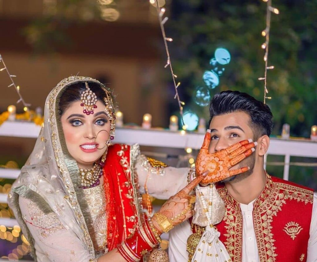 Kanwal Aftab And Zulqarnain Sikandar's First Picture As Husband And Wife Is Totally Awwdorable!